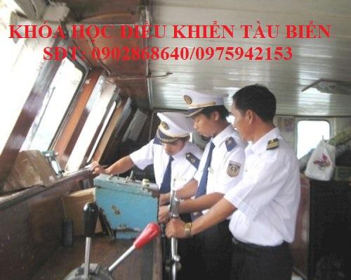 Học điều khiển tàu biển tại Hải Phòng