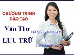 Tuyển sinh cao đẳng văn thư lưu trữ học tại Hà Nội. 01