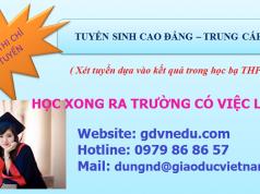 Tuyển sinh cao đẳng tại Hà Nội