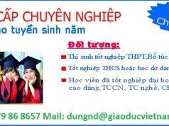 Tuyển sinh trung cấp tại Hà Nội