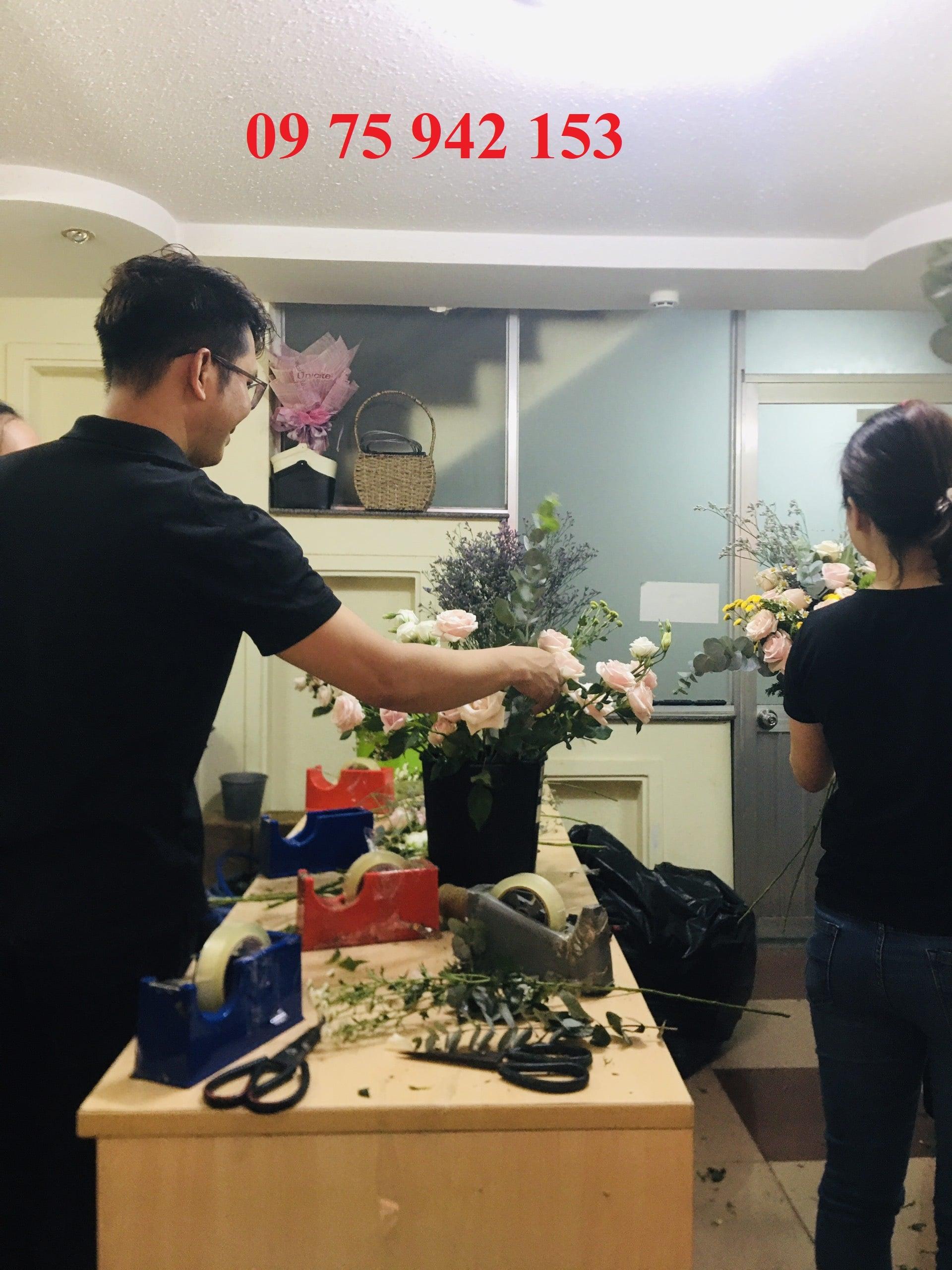 khóa học cắm hoa tươi nghệ thuật tại tphcm